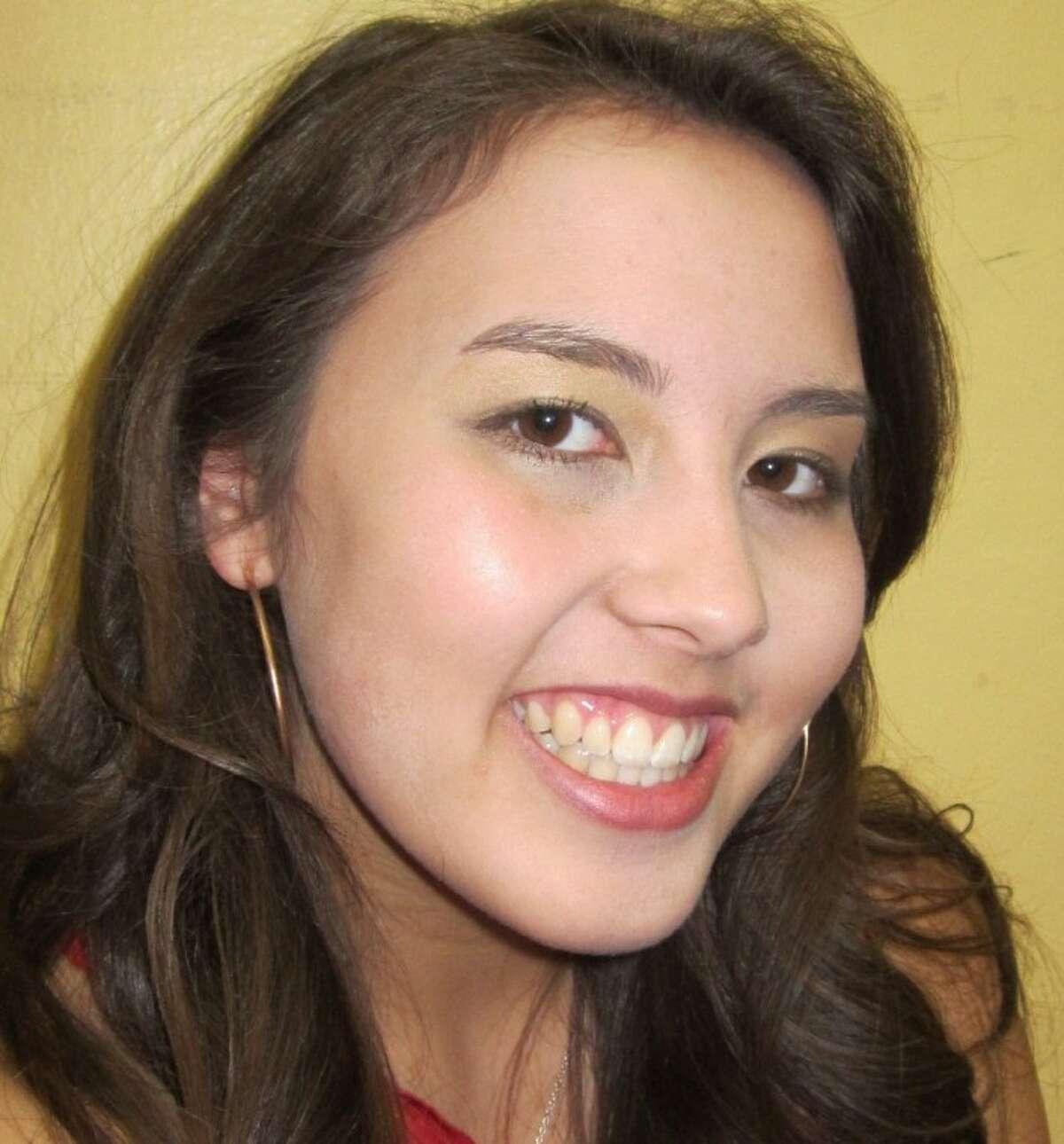 Celina Staten, president of Conroe High School Leo Club