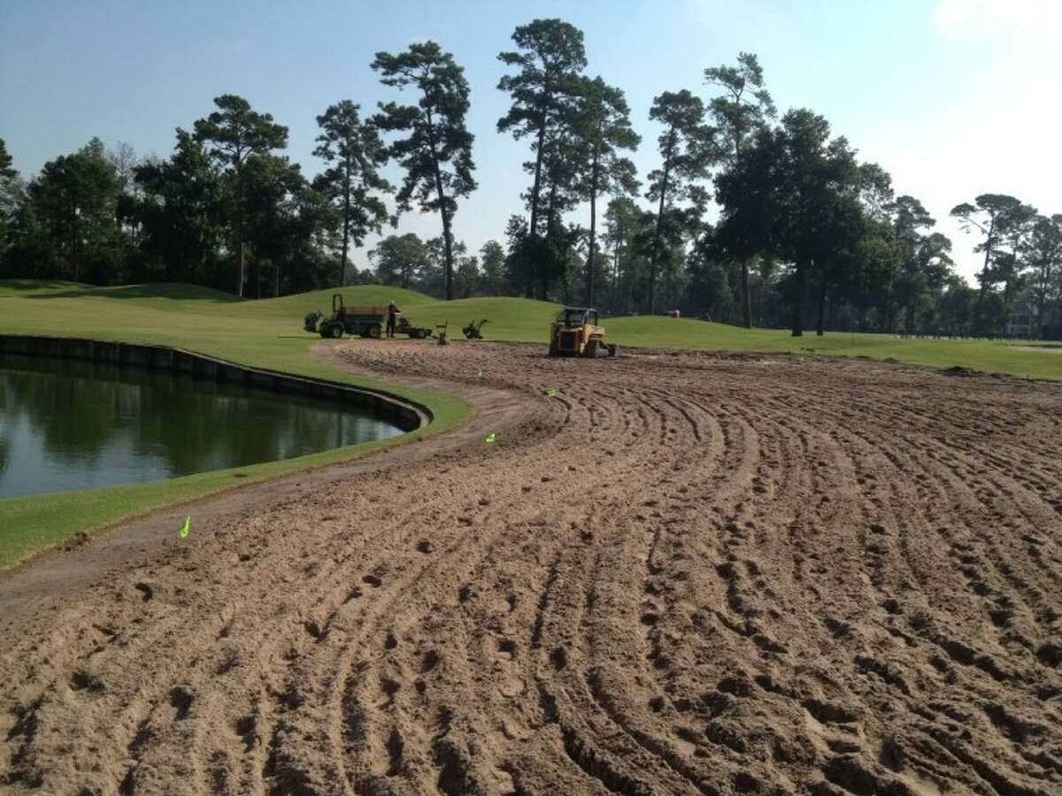 The Woodlands Country Club recently completed a $1 million renovation project to its gold course.