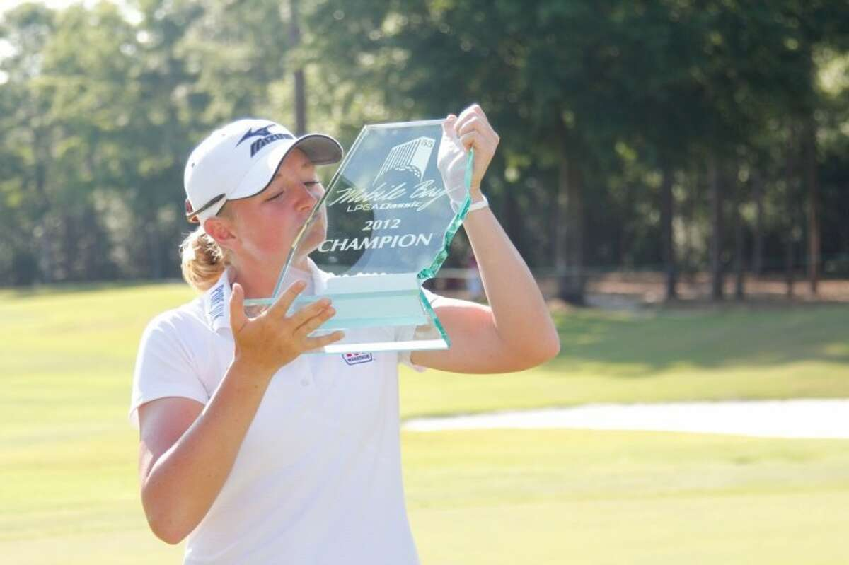 Stacy Lewis, a graduate of The Woodlands High School, won the Mobile Bay LPGA Classic on Sunday.