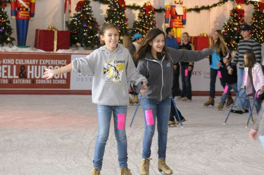 The Ice Rink at The Woodlands Town Center is open through the holidays and remains open through Jan. 21.