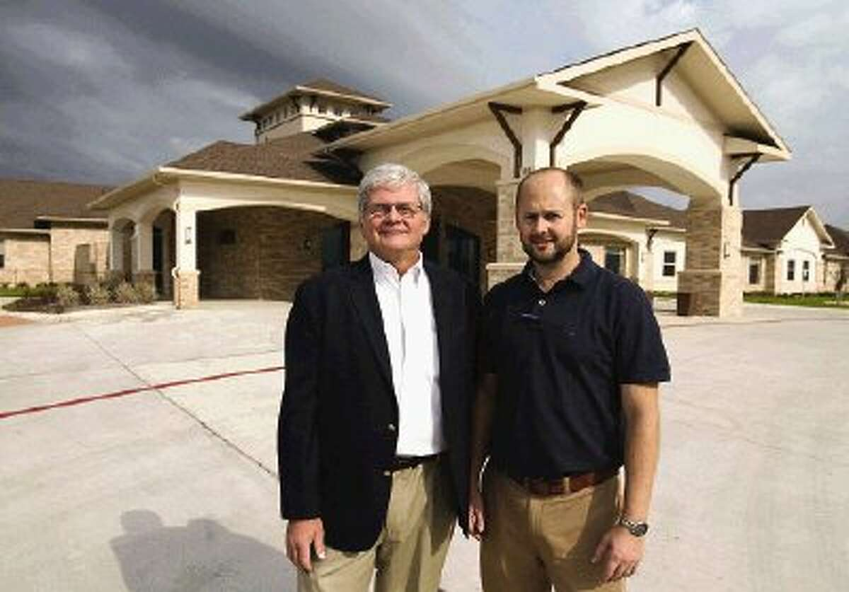 Live Oak Assisted Living in Montgomery is a family business launched by father and son team Steve, left, and Alex Primeau.