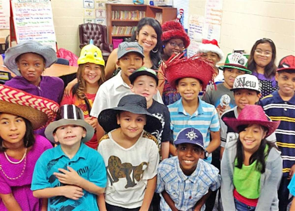Armstrong Elementary students wore fun hats as part of a school activity.
