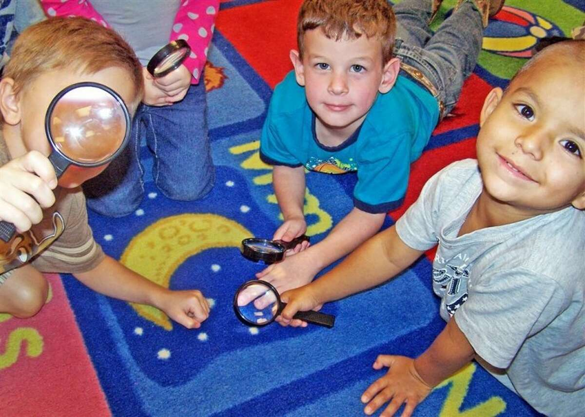 Creighton Elementary students explored the world through a magnifying glass.