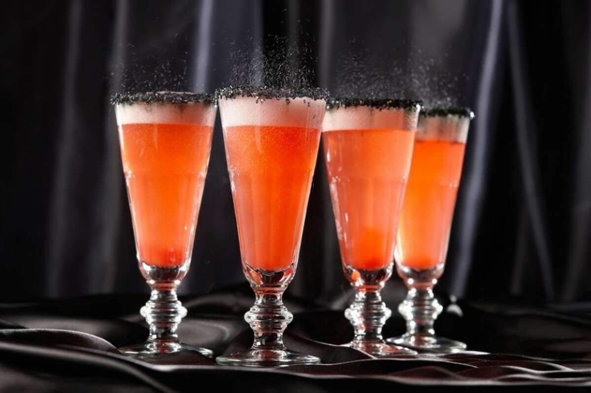 """Leave out the rum for a virgin """"mocktail"""" all your little ghouls and goblins can enjoy."""