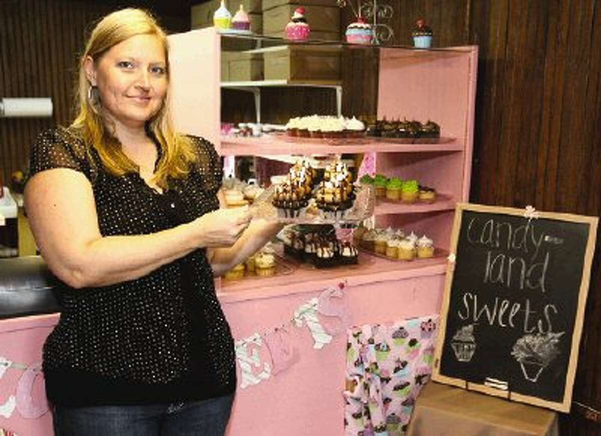 Ami Fairchild is the proprietor of Candyland Sweets, a gourmet cupcake business in Conroe.