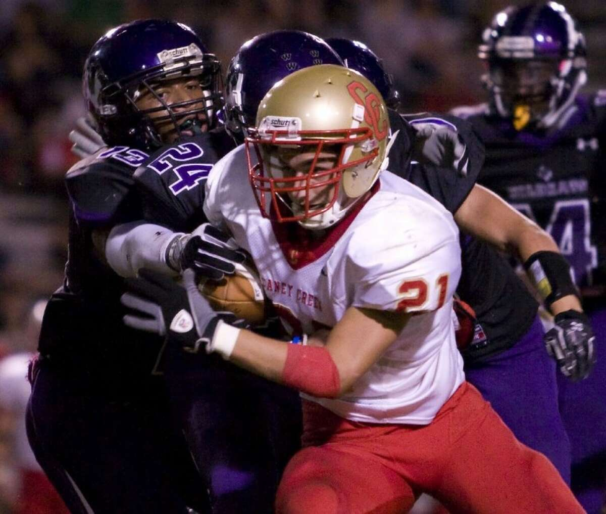 Caney Creek and Willis will join Magnolia, Magnolia West, Montgomery and four other teams in the new District 18-4A in the fall.