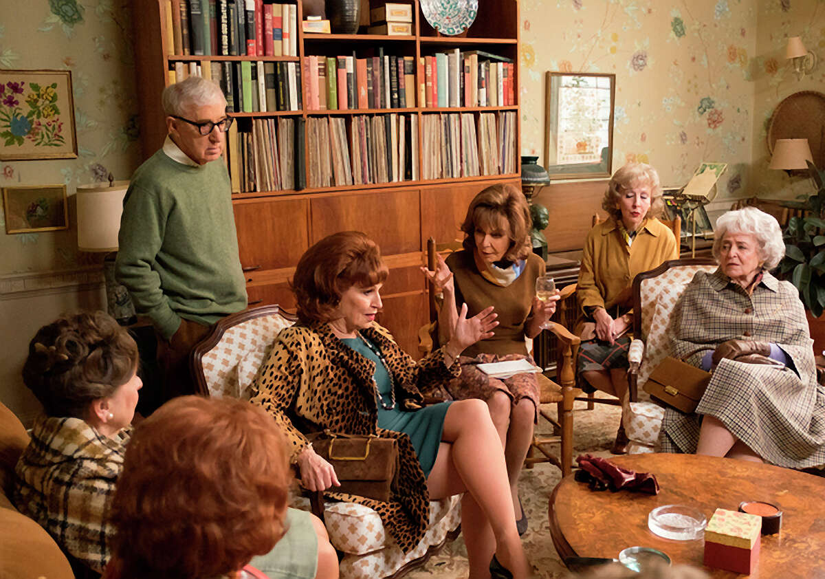 """Woody Allen, Joy Behar, Elaine May and Sondra James in """"Crisis in Six Scenes,"""" available to stream on Friday."""