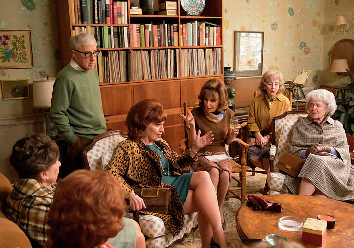 "Woody Allen, Joy Behar, Elaine May and Sondra James in ""Crisis in Six Scenes,"" available to stream on Friday."