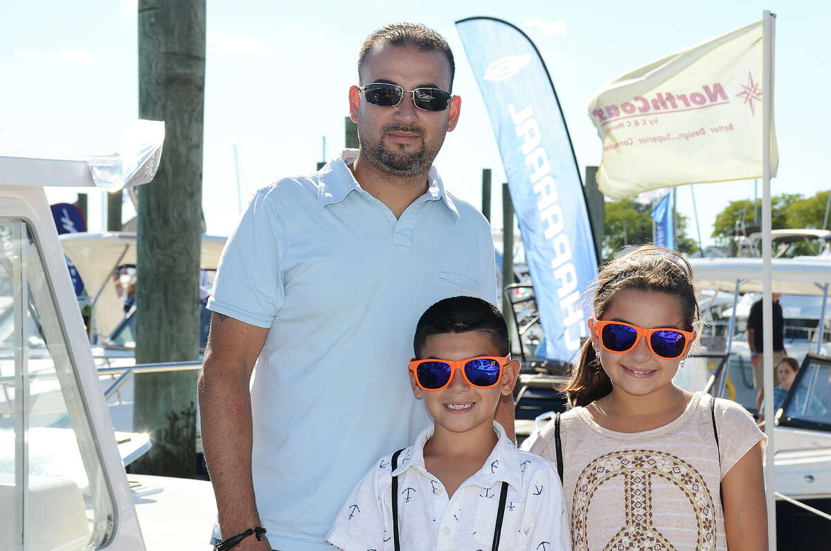 """The annual Progressive Norwalk Boat Show took place at Norwalk Cove Marine September 22 -25, 2016. Guests toured luxury boats, learned about boat maintenance, watched demos and more. This year, the Galeon 660 Fly, a yacht built in Poland, was dubbed the """"Queen"""" of the show. Were you SEEN?"""