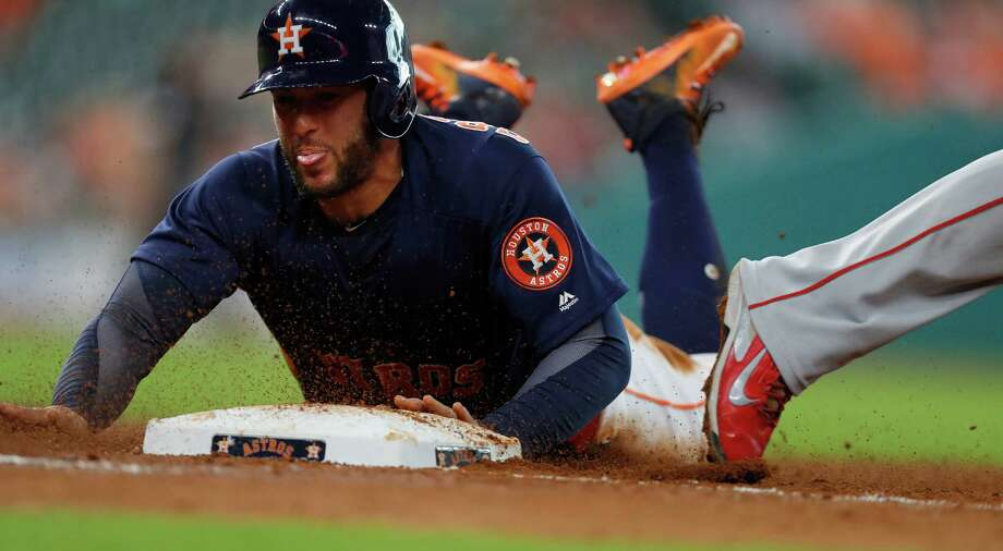 Astros' A.J. Hinch likes George Springer in leadoff spot