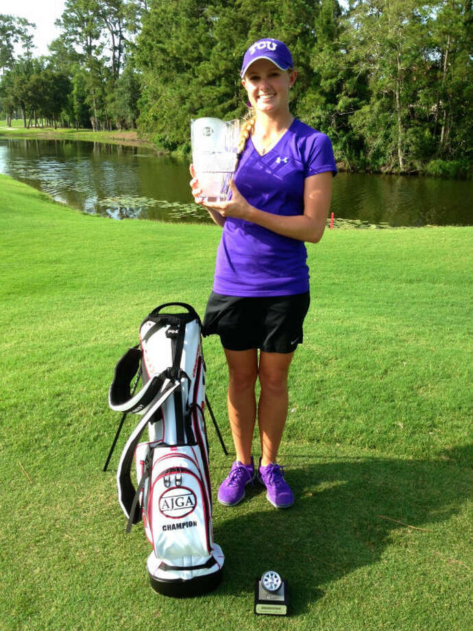 The Woodlands' Brooke McDougald won the girls division of the BilliardFactory.com Junior Championship at The Woodlands Country Club last year.