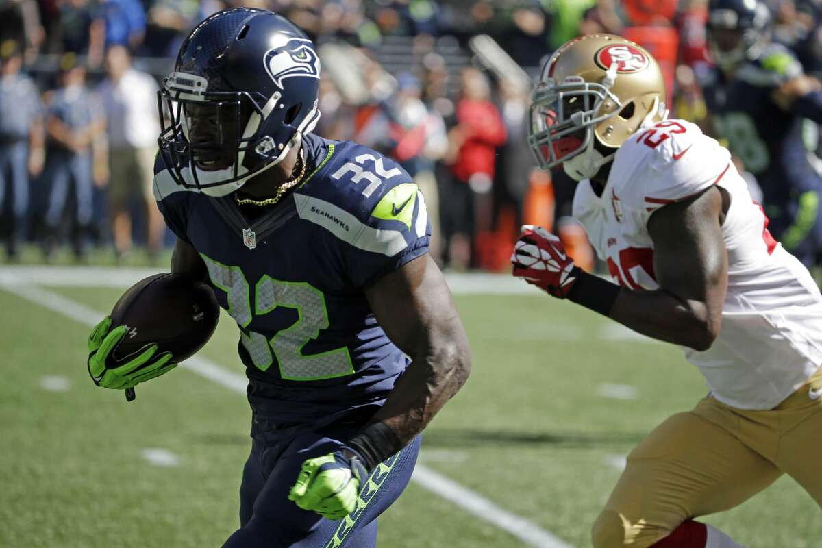 Running back: B+ We spilled a lot of proverbial ink this offseason while trying to determine how - and how effectively - Seattle would replace the retired Marshawn Lynch, but suffice to say we didn't see Christine Michael taking the role of workhorse back. Expected to serve as a change of pace to starter Thomas Rawls, Michael has instead had to carry the load with Rawls out with injury. He's done it well, averaging 4.6 yards on 63 carries. Rookies C.J. Prosise and Alex Collins haven't shown that much, thanks to injury and ineffectiveness, respectively, but veteran C.J. Spiller had a nice debut for Seattle in Week 4.