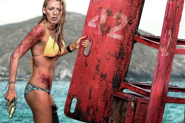 "Blake Lively stars as Nancy, who must outwit a hungry shark in ""The Shallows."""