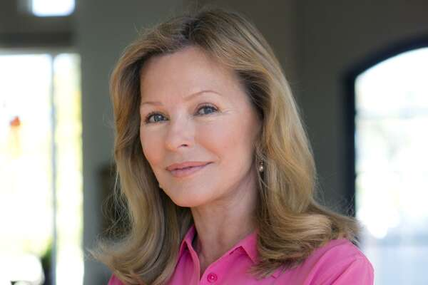 Actress Cheryl Ladd poses for a potrait in her Boerne-area home.