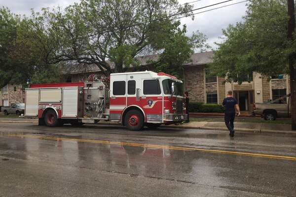 No injuries were reported at a North Side apartment complex Sunday, Sept. 25, 2016.