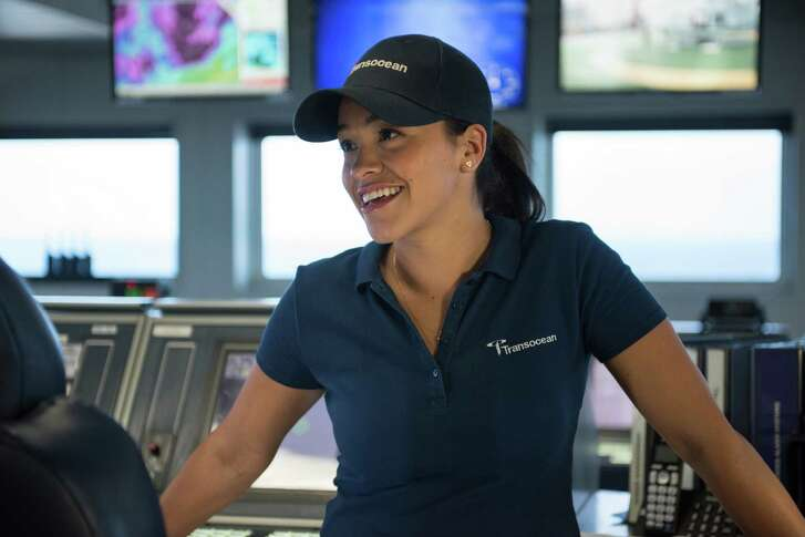 "Rodriguez plays Andrea Fleytas, a dynamic positioning officer, in ""Deepwater Horizon."""