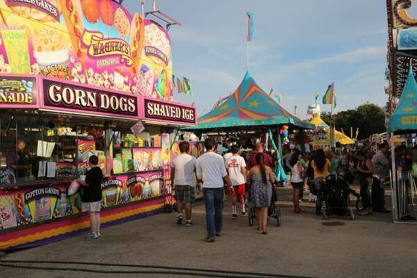 The Comal County Fair on Saturday. Sept. 24, 2016, drew crowds hungry for fun, music and of course that yummy festival food we all crave from time to time.