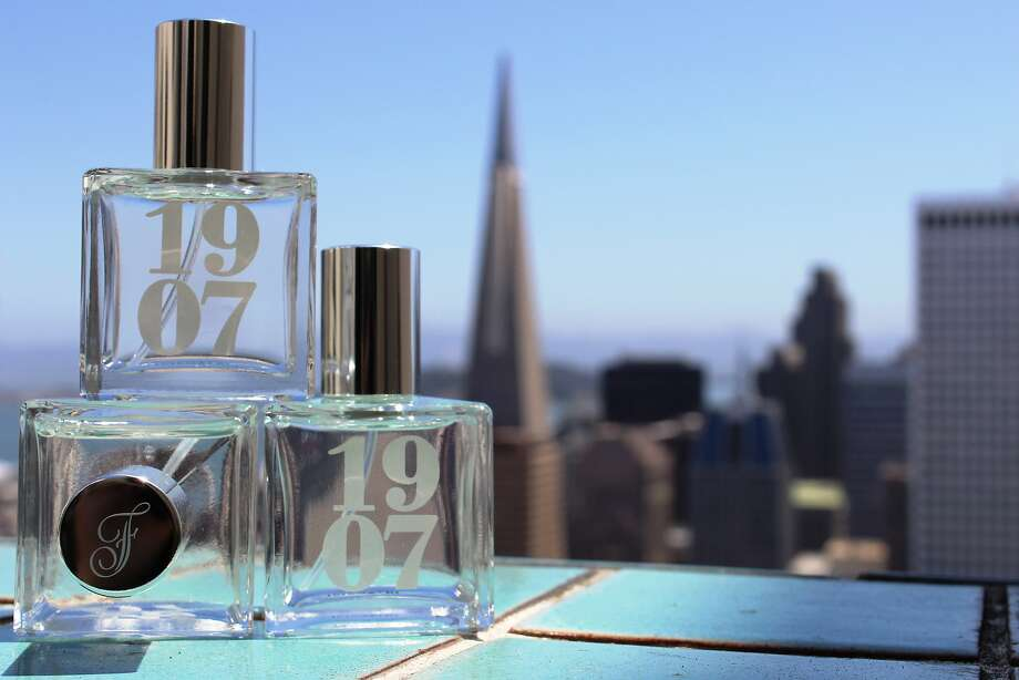 The Fairmont Hotel in San Francisco unveiled a signature scent this summer, 1907, named for the year the hotel was built. It has top notes of orange, lemon and aloe, with middle notes of galbanum, white jasmine and rosemary and base notes of boxwood and red cedar. 1.7 fl oz, $39.99 at the Fairmont's Caffe Centro shop. Photo: Fairmont Hotel