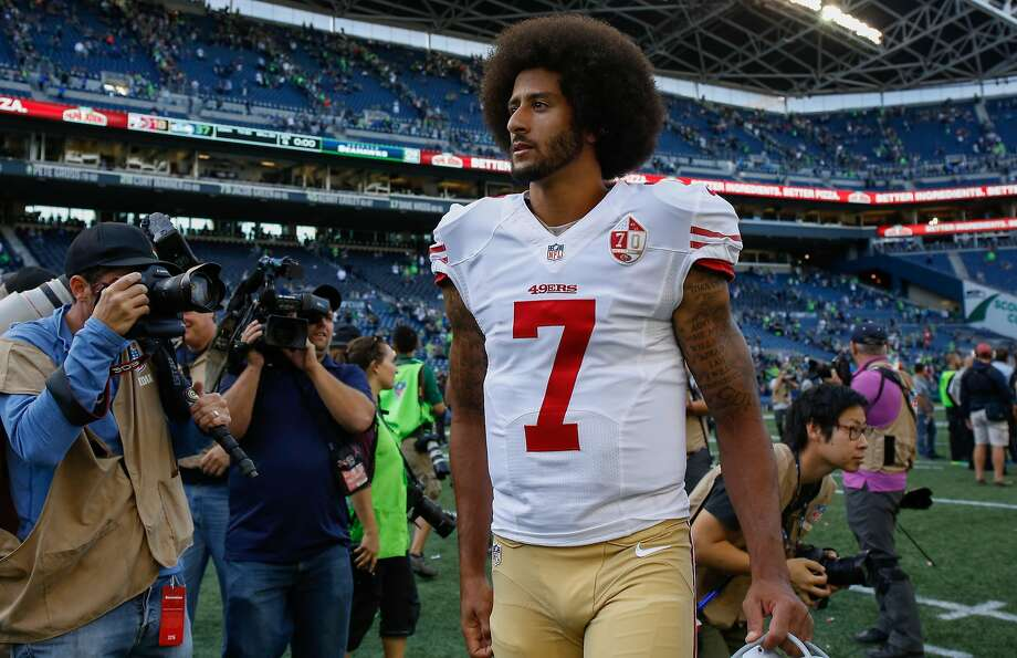 Colin Kaepernick. Photo: Otto Greule Jr, Getty Images