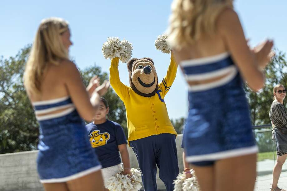 The identities of the occupants of the Oski the Bear costume have been a well-kept secret at UC Berkeley for 75 years. Photo: Santiago Mejia, Special To The Chronicle