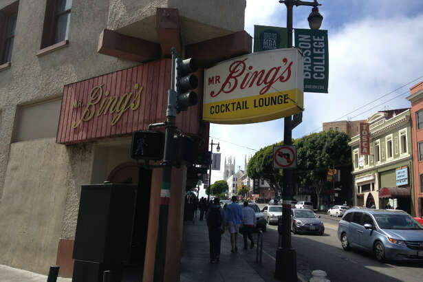 The exterior of Mr. Bing's.