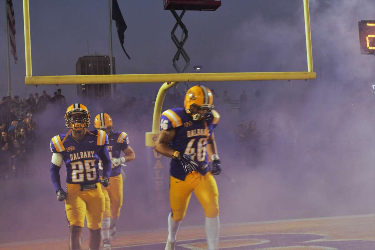 Were you Seen at the UAlbany football home game against Saint Francis at Tom & Mary Casey Stadium on the UAlbany campus on Saturday, Sept. 24, 2016?