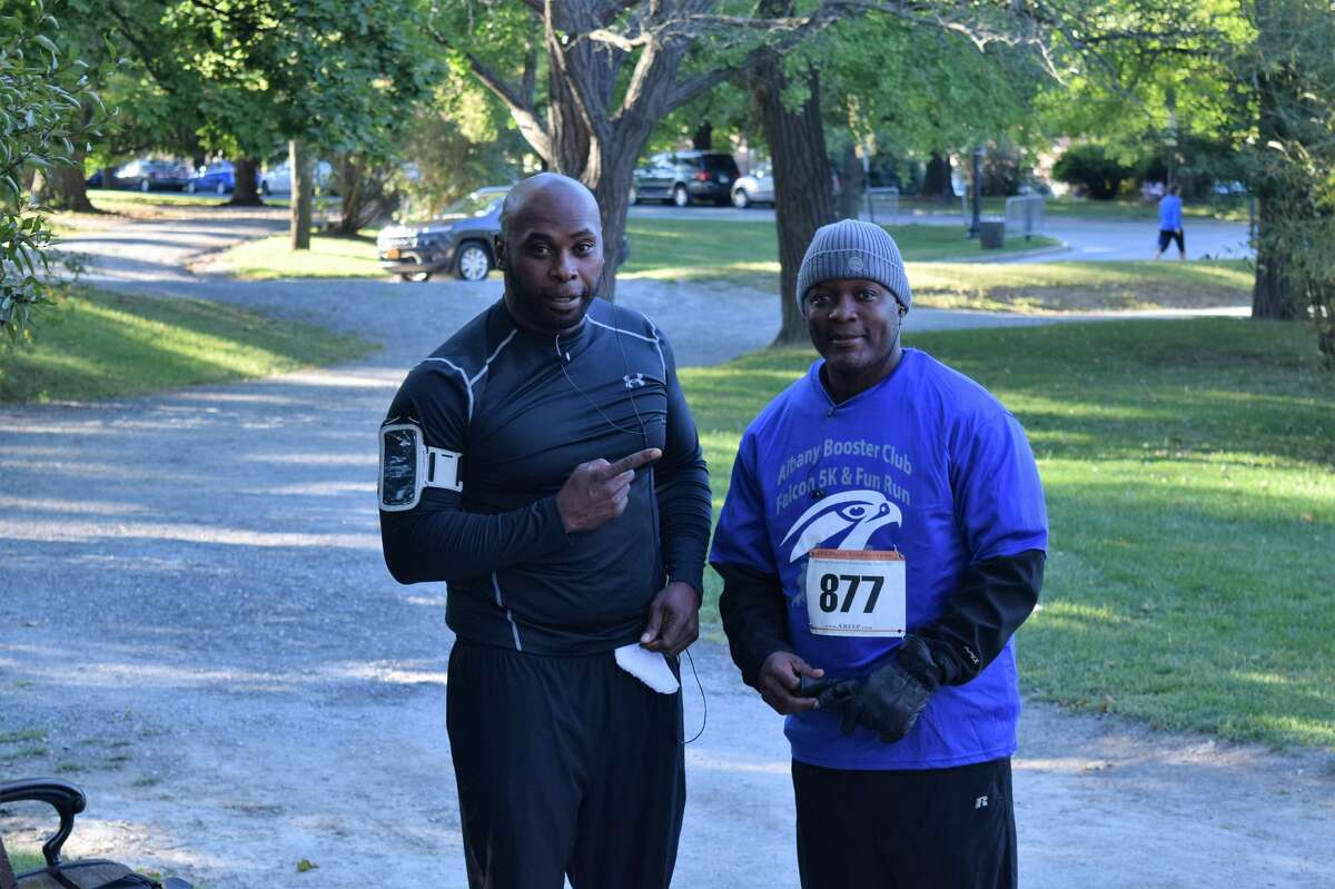 Were you Seen at the Albany Booster Club's Falcon 5K & Fun Run in Washington Park in Albany on Sunday, Sept. 25, 2016?