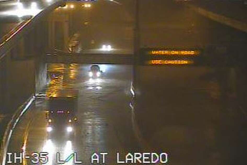 Lower levels of two major highways are closed Monday morning after a large storm dumped up to 5 inches of rain in the San Antonio area overnight, the Texas Department of Transportation said.