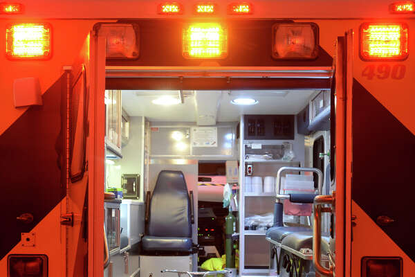 Do to a lack of resources at some schools, UIL does not require medics and ambulances at high school football games. Photo taken Wednesday, September 21, 2016 Guiseppe Barranco/The Enterprise