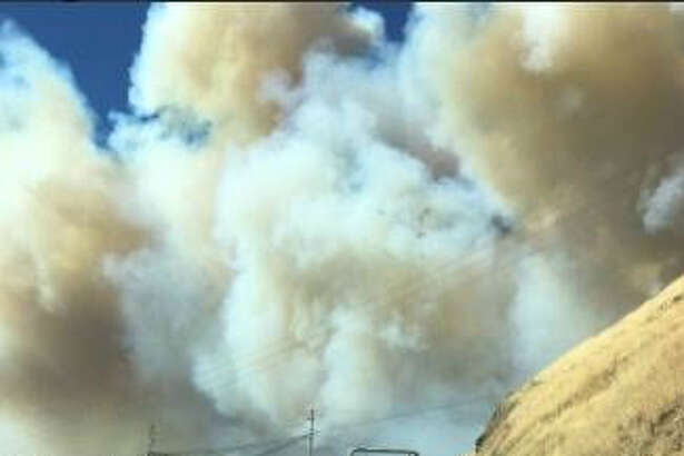 The 1,500-acre Sawmill Fire in Sonoma County was 20 percent contained on Monday morning.