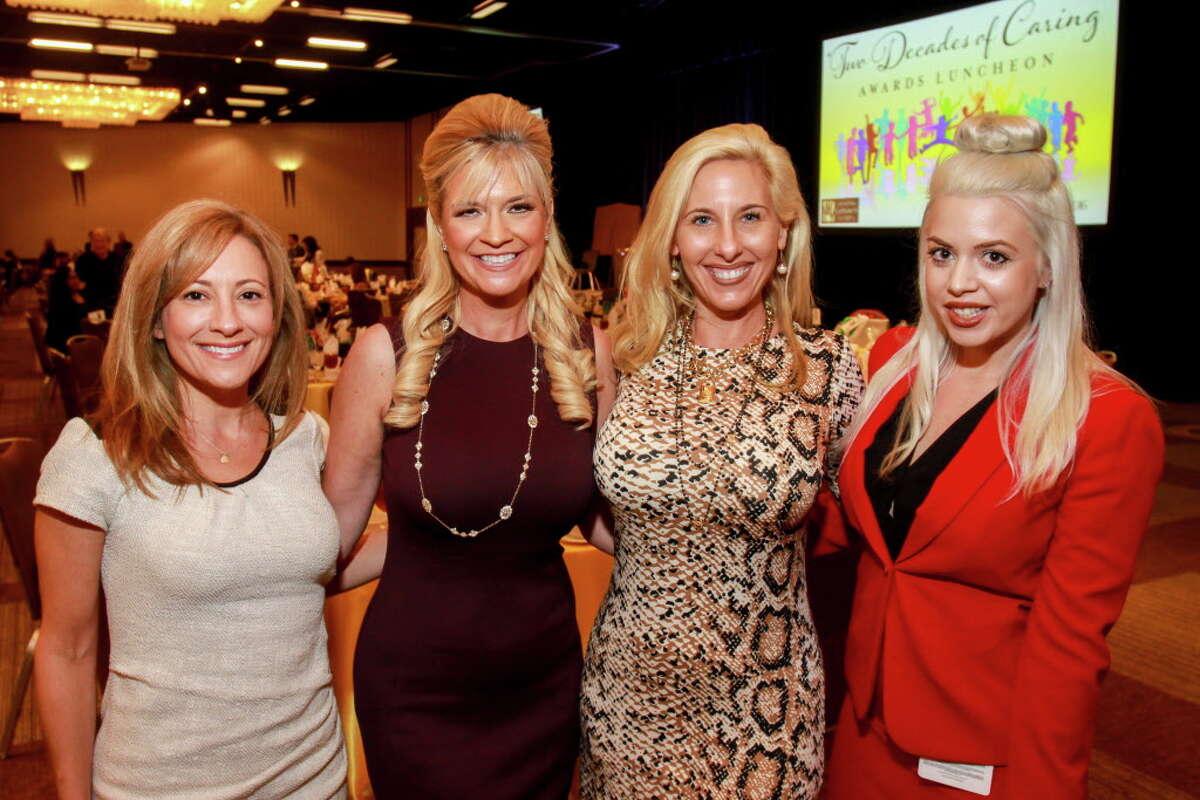 Dena Winkler, from left, Tammie Johnson, Tracy Faulkner and Brittney Randolph at