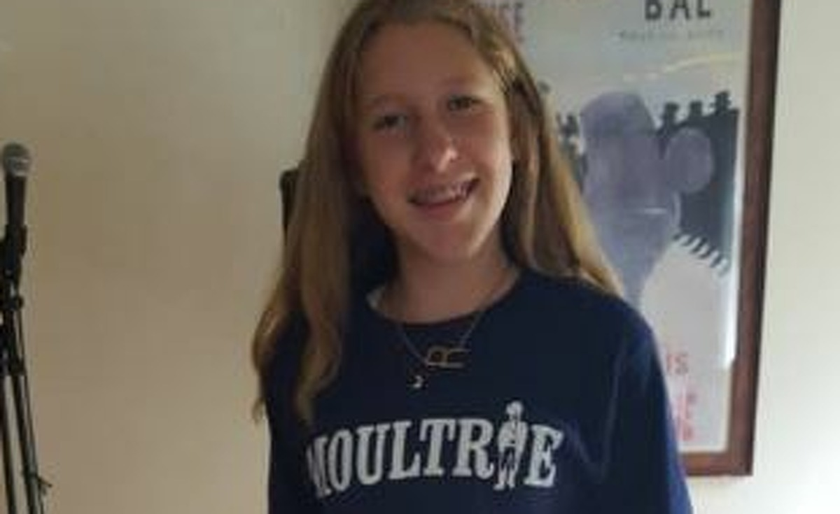 """A teacher allegedly told this Moultrie Middle School student in Mount Pleasant, S.C. that, """"she looked like she should 'be clubbing.'"""" The student felt humiliated and changed into pants that her mother brought her. Source: Suzie Webster"""