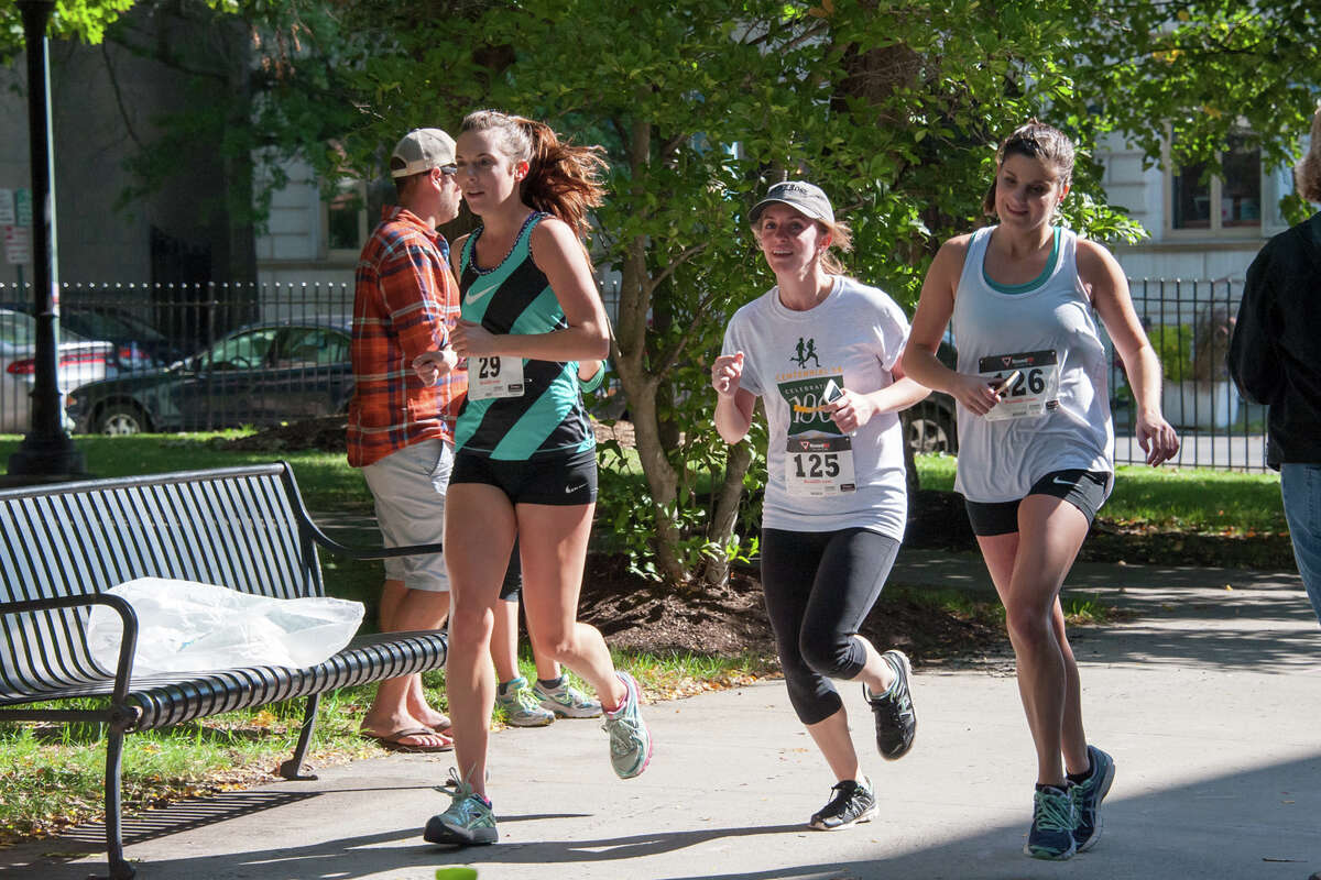 Were you Seen at the Sage College's Centennial 5K Run/Walk at Russell Sage College in Troy on Saturday, Sept. 24, 2016?
