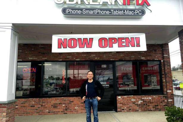 Daniel Lew, owner of uBreakiFix stores in Norwalk and Darien, Conn.