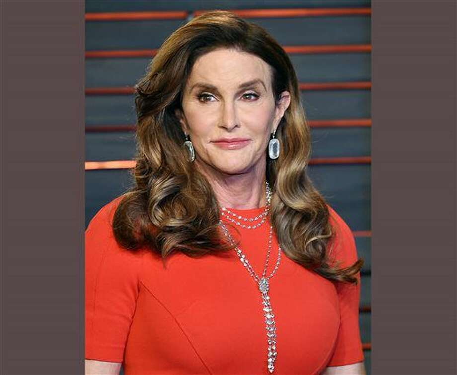 FILE - In this Feb. 28, 2016 file photo, Caitlyn Jenner attends the Vanity Fair Fair Oscar Party in Beverly Hills, Calif. Jenner will mark the 40th anniversary of her gold-medal Olympic win in the decathlon with a cover story in Sports Illustrated. The magazine featuring Jenner on the cover hits newsstands June 8. (Photo by Evan Agostini/Invision/AP, File) Photo: Evan Agostini