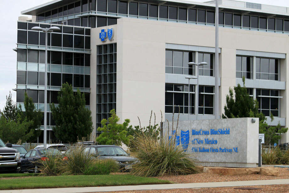 This Wednesday, May 18, 2016 photo shows the headquarters ofBlueCrossBlueShieldof New Mexico in Albuquerque, N.M.Blue Cross Blue Shield of Texas wants to cover gender reassignment surgery in plans sold on HealthCare.gov.(AP Photo/Susan Montoya Bryan)