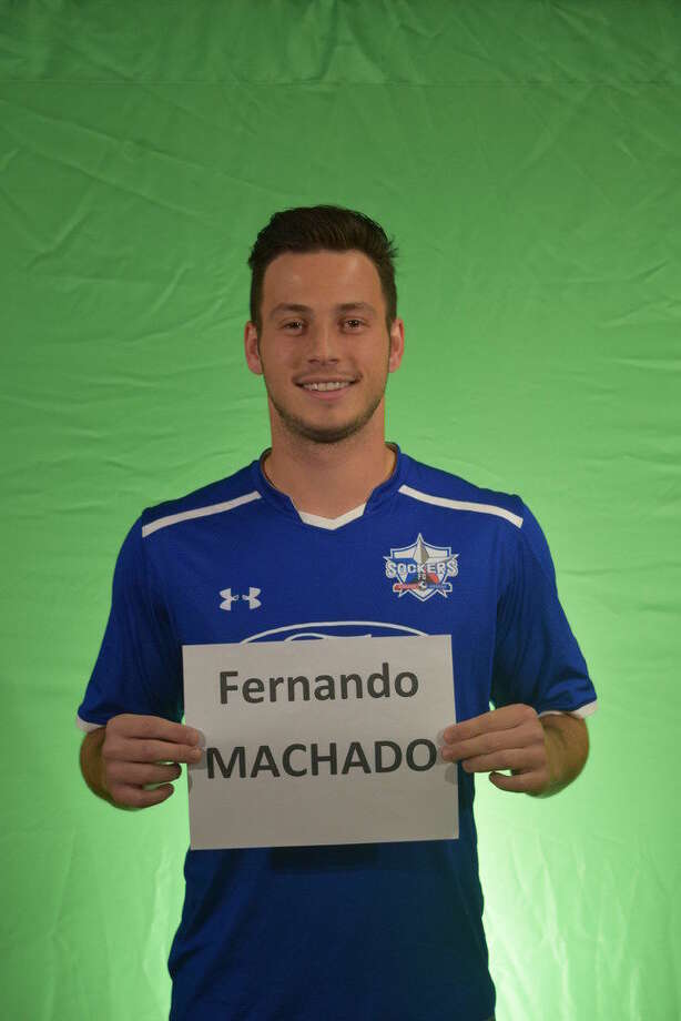 Sockers FC player Fernando Machado.