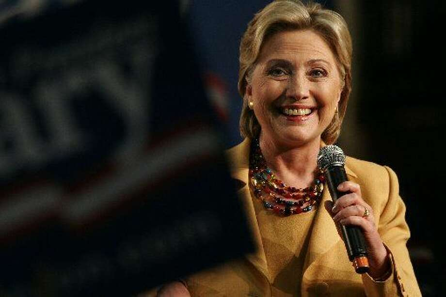 There were reports Monday that Hillary Clinton is spending money advertising in Texas.
