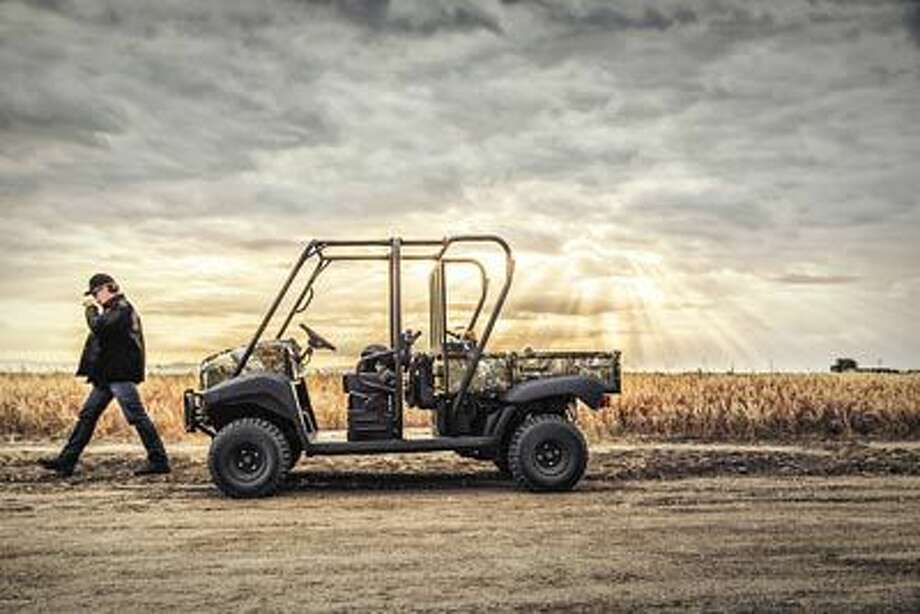 Rugged enough to make any remote location, the Kawasaki Mule is ready to go. Find it at Midland powersports 5800 W. Hway 80, Midland.