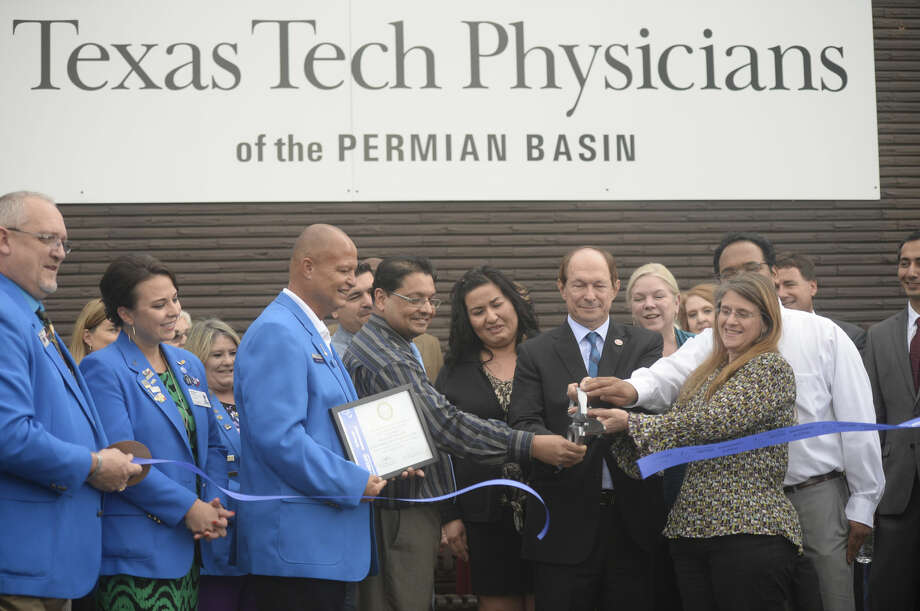 Texas Tech Physicians of the Permian Basin Psychiatry Clinic ribbon-cutting ceremony Wednesday, Aug. 31, 2016. James Durbin/Reporter-Telegram Photo: James Durbin