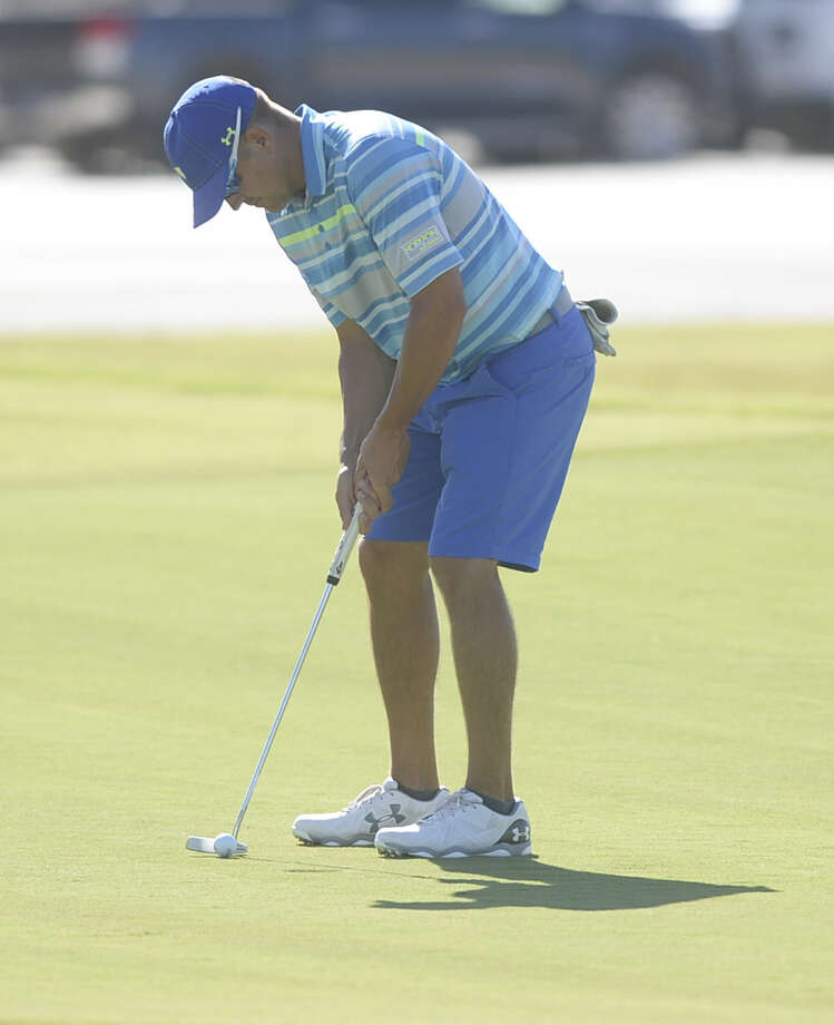 Jay McHugh putts during the first day of the Midland Men's City Golf Championship on Friday, Aug. 5, 2016, at Hogan Park Golf Course. James Durbin/Reporter-Telegram Photo: James Durbin