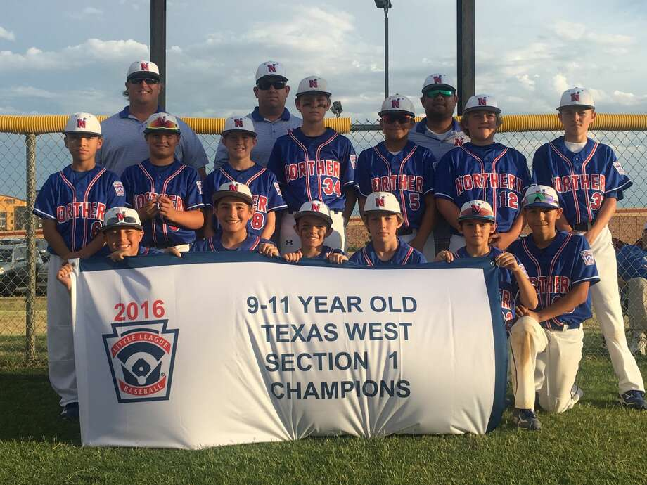 The Midland Northern Little League 9-11 All-Stars pose for a team picture after they defeated Lubbock Western, 9-4 to claim the Section I Championship on Tuesday at Wayne Ricketson Field in Lubbock. Northern advanced to the Texas West State Little League Tournament, July 14-17 in Abilene. Photo: Courtesy Photo