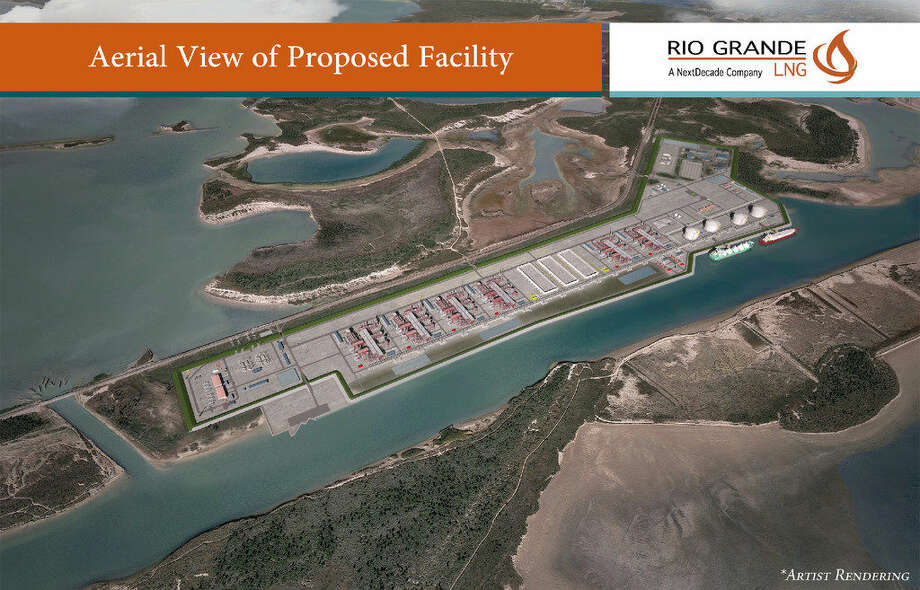 The Woodlands-based NextDecade plans to start construction by the end of 2017 on the 1,000-acre Rio GrandeLNGproject in Brownsville. The first of three phases is projected to cost $6 billion Photo: Houston Chronicle