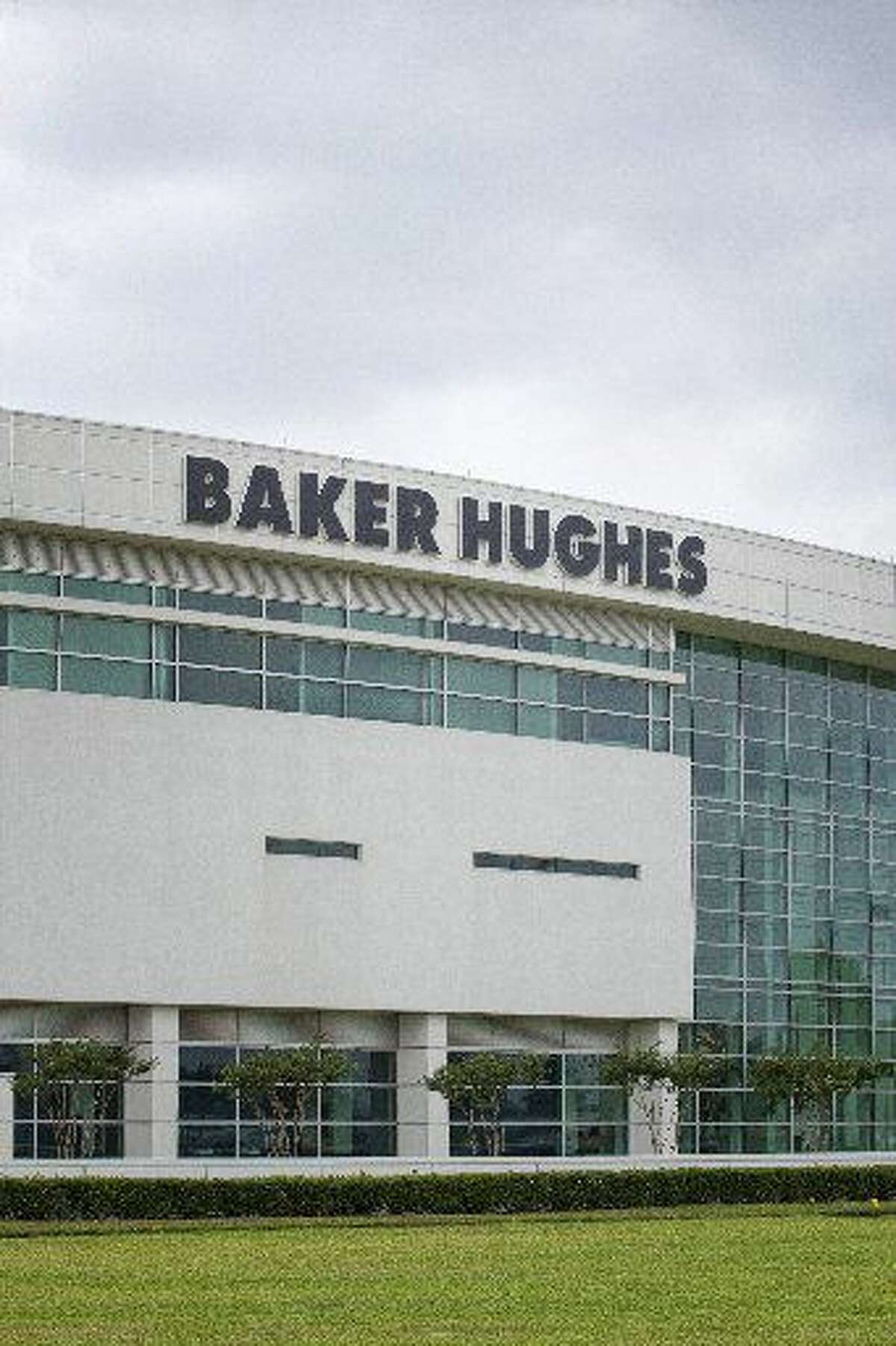 The exterior of the research and development building is seen, at theBakerHughesfacility, Thursday, May 12, 2011 in Tomball, Texas. (Todd Spoth/For the Chronicle)