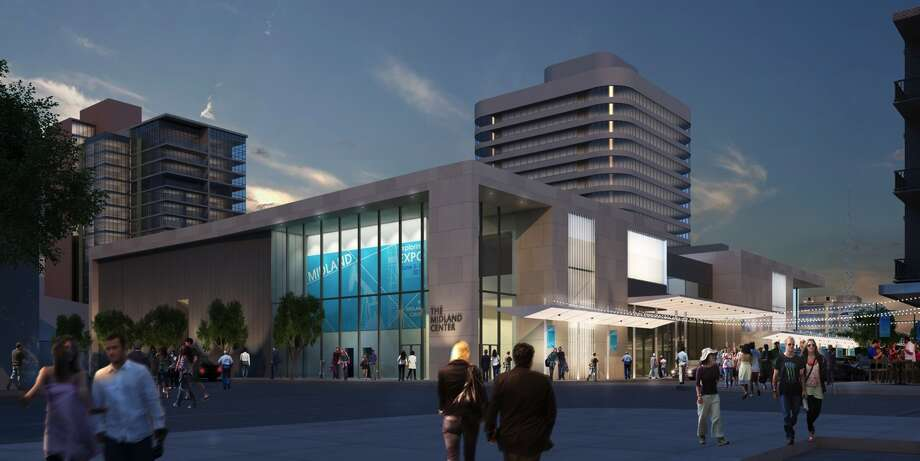 New Midland Center Rendering