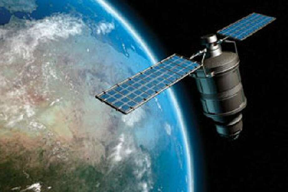 FILE --This image provided by NASA shows an artist concept of an Iridium satellite in earth orbit. Midland Development Corp.Board members at Monday's monthly meeting voted to approve a promotional agreement with LeoLabs, a California-based space company that will locate softball-size space debris for satellite companies.(AP Photo/NASA)