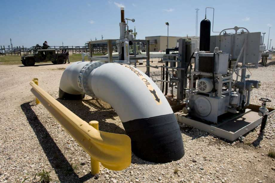The Bryan Mound facility in Brazoria County is one of four Gulf Coast sites that make up the Strategic Petroleum Reserve. Photo: Photo: Brett Coomer, Houston Chronicle