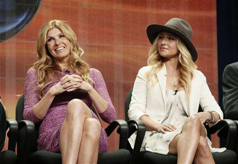 "FILE - In this July 27, 2012 file photo, Connie Britton and Hayden Panettiere attend the ""Nashville"" panel at the Disney ABC TCA Day 2 at the Beverly Hilton Hotel, in Beverly Hills, Calif. The television series ""Nashville"" is getting a second life. The country-oriented CMT network said Friday, June 10, 2016, it will make a fifth season of the music-oriented drama, which had been canceled less than a month ago by ABC. (Photo by Todd Williamson/Invision/AP, File) Photo: Todd Williamson"