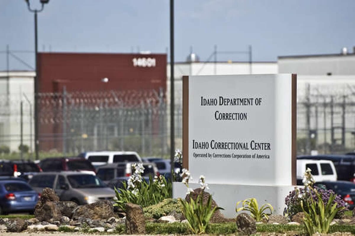 FILE - In this June 15, 2010 file photo, the Idaho Correctional Center is shown south of Boise, Idaho, operated by Corrections Corporation of America. The Justice Department says it's phasing out its relationships with private prisons after a recent audit found the private facilities have more safety and security problems than ones run by the government. Deputy Attorney General Sally Yates instructed federal officials to significantly reduce reliance on private prisons. (AP Photo/Charlie Litchfield, File)