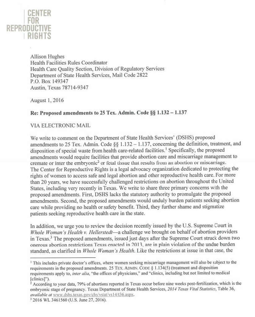 New texas bill takes aim at mens masturbation habits houston legal actionpart of a letter from the center for reproductive rights questioning a texas rule requiring aiddatafo Image collections
